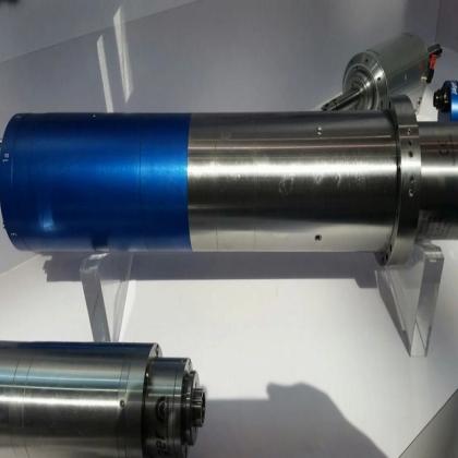 供应供应德国Jager带内压150bar切削液深孔钻铣高速电主轴