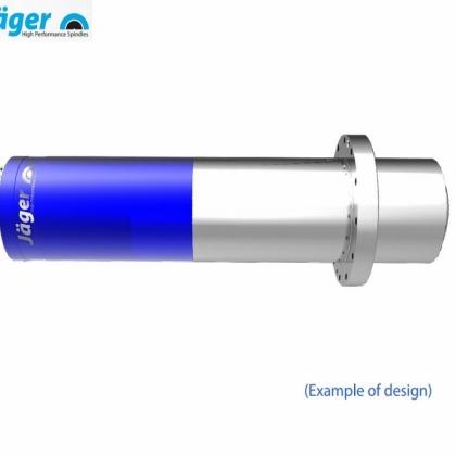 德国品牌Jager翌格尔高精度雕铣磨削高频电主轴