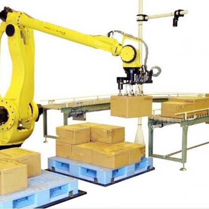 全自动水泥搬运码垛机机器人