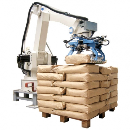 化肥自动码垛堆垛机机器人
