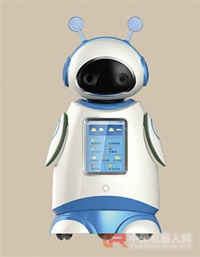 """道,这些可爱的机器人""""保姆""""来到了杭州市福利中心,并让老人们"""