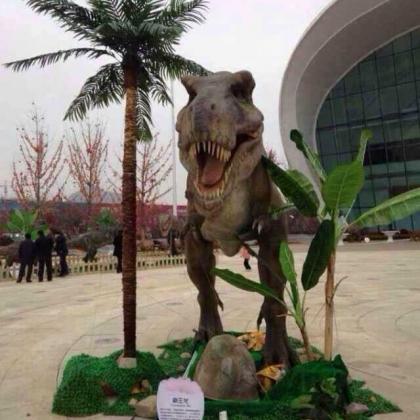 大型恐龙模型出租,恐龙展览道具出租