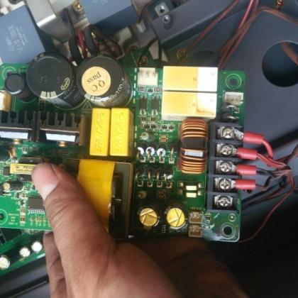 【长沙变频器维修中心】【0C3 故障】英威腾变频器维修