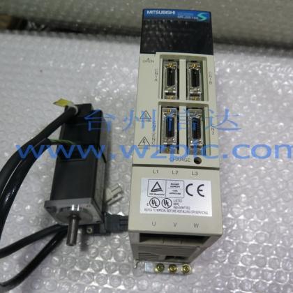 HC-KFS13 MR-J2S-10A 三菱伺服电机加驱动器
