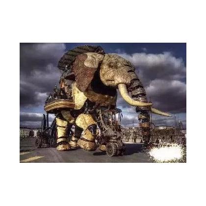 机械大象出租,巡游机械大象出租