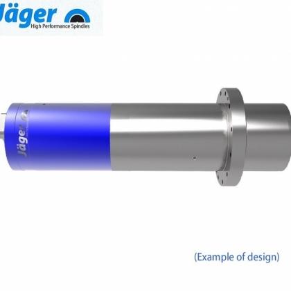 供应德国品牌Jager低速钻孔攻丝高速精加工电主轴