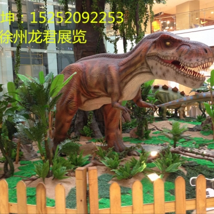 仿真恐龙出租租赁市场走向及前景分析龙君展览为你解答