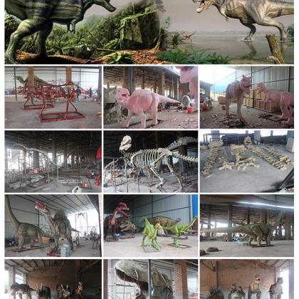 活体电动恐龙模型 恐龙机器人 仿真恐龙模型出租