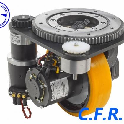 电驱动技术 AGV行走结构 意大利CFR驱动单元 立式驱动轮 卧式电驱动
