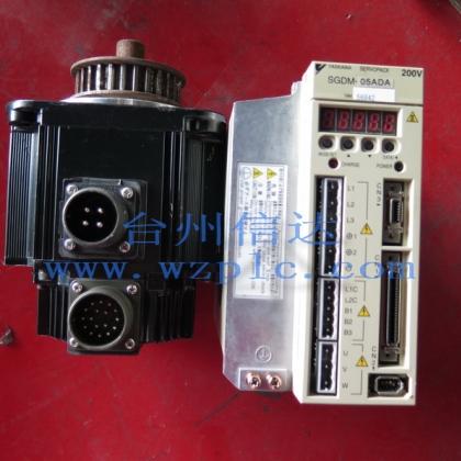 SGMGH-05ACA21 SGDM-05ADA 二手安川伺服电机加驱动器 一套 台州信达