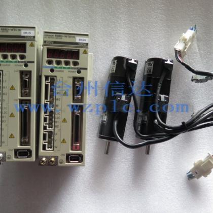 R88M-W10030H-B R88D-WT01H 欧姆龙伺服电机带刹车
