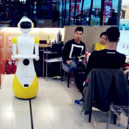 餐厅机器人发展趋势,智能是必须走向