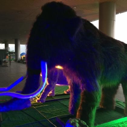 恐龙出租、库存量大占占空间徐州龙君、猛犸象等仿真动物