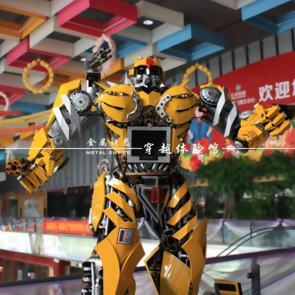 广州金属诱惑智能艺术机器人能唱歌跳舞还能讲故事的机器人,游乐场主题公园人气必备