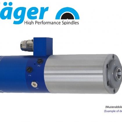 供应德国品牌Jager自动换刀柄雕铣磨削高速电主轴