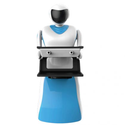 智能服务机器人、送餐机器人、智能服务员小智