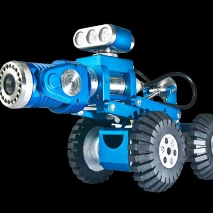 市政排水 快速检测 管道摄像系统 管道爬行器 管道机器人