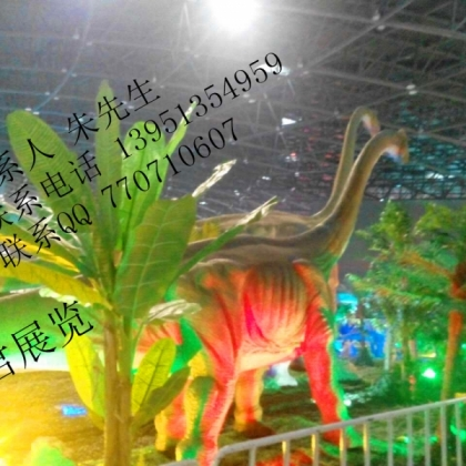 恐龙出租 恐龙展览行业依然可以很火爆 选择龙君恐龙出租