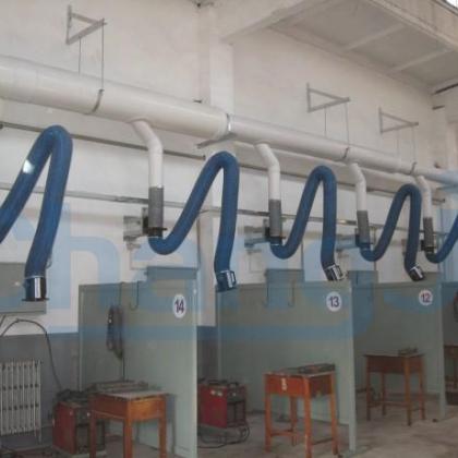 长春车间排烟系统,吉林焊接车间排烟系统,大连焊接车间排烟设备,天津焊接车间除尘