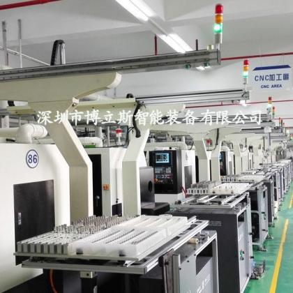 工业数控机床机械手 桁架式上下料机械手