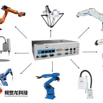 视觉龙VD200机器人机械手视觉引导定位抓取系统