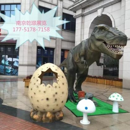恐龙模型、微景观模型和变形金刚模型南京现货出租