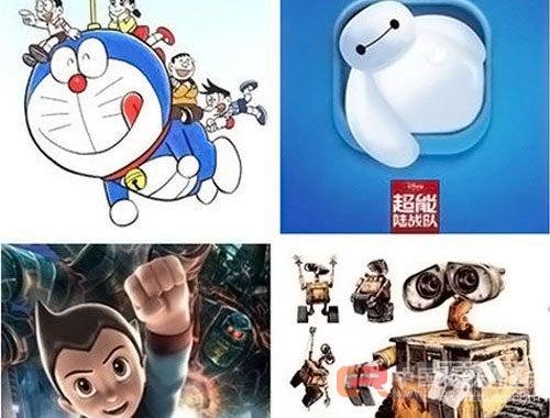电影和动画片里的智能机器人看起来聪明可爱