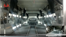 泰达机器人喷涂汽车整车2