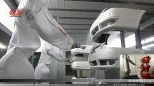 泰达机器人喷涂汽车保险杆