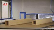 泰达机器人喷涂方形木器