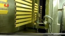 泰达机器人 固定行程往复式喷涂铝型材