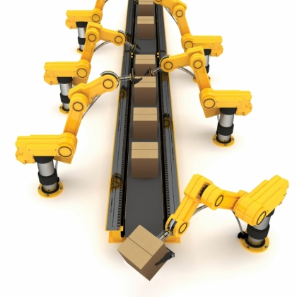 TFT-ROBOT-468型纸箱码垛机器手