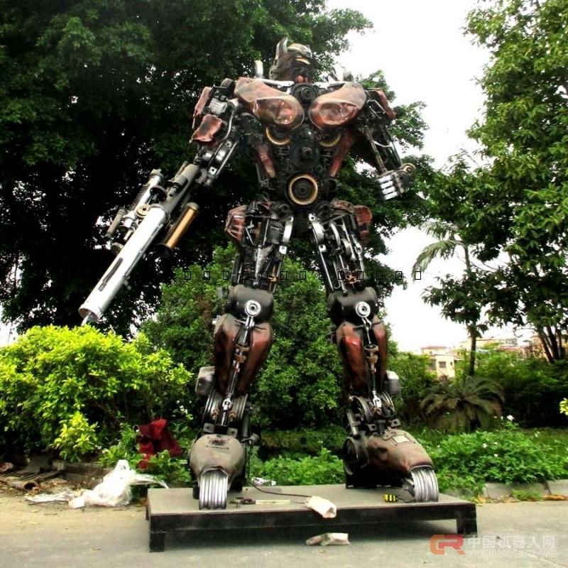 广州金属诱惑智能艺术机器人厂家变形金刚机器人迎宾展示展会商场活动暖场高3米