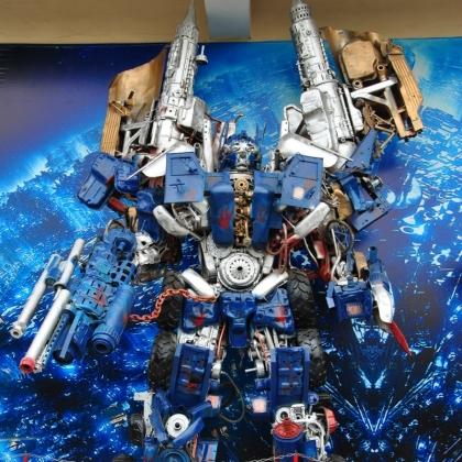 广州金属诱惑智能艺术机器人商场房地产活动机器人道具人气首选高约5米