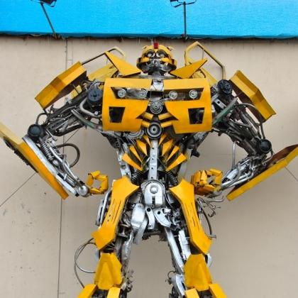 餐厅KTV酒吧主题公园装饰道具智能艺术机器人展会活动暖场高约6米