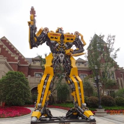 开业庆典商场发地产活动机器人智能迎宾跳舞机器人租赁定制厂家高约10米