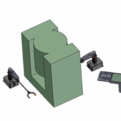 冲床上下料机械手SXPR5-18A
