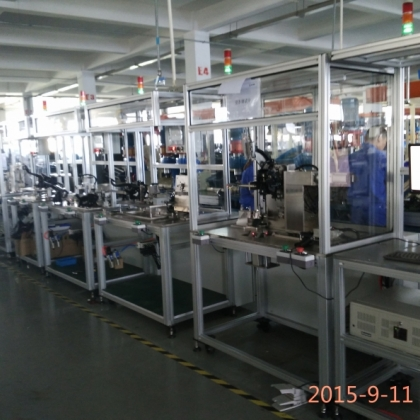 汽车踏板生产线