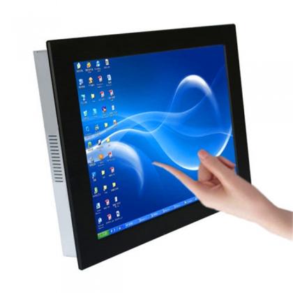 批发15寸i3无风扇工业平板电脑一体机