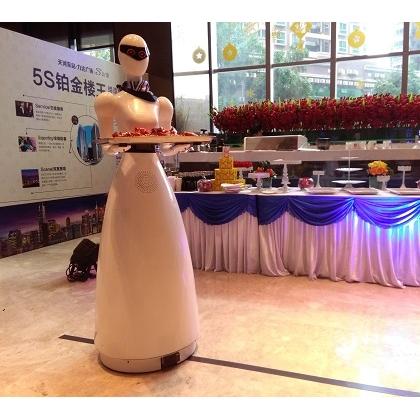广东机器人、服务机器人、送餐机器人找广州互米机器人