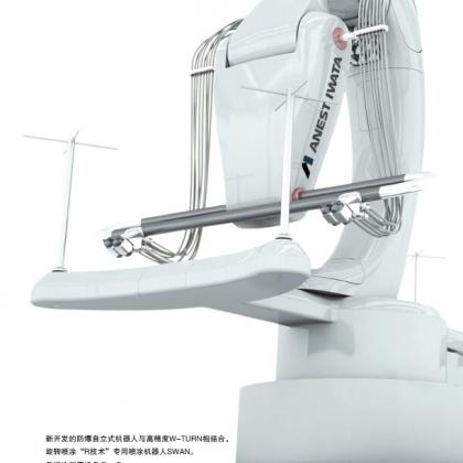 日本岩田 喷涂涂装机器人SWAN