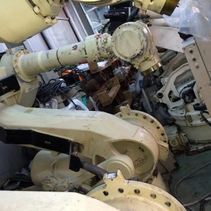 XRC系统ES165 二手安川机器人带控制柜 一套 台州信达