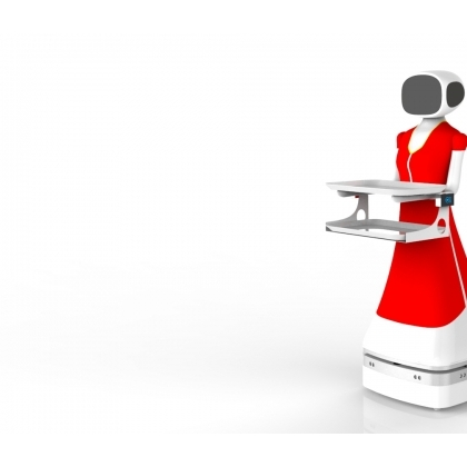送餐机器人带旺生意,老板叹息数钱太累,还要再引进四台!