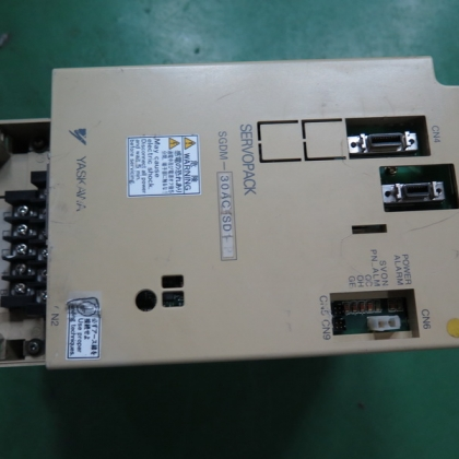 SGDM-30AC-SD1-P 二手安川伺服驱动器 台州信达