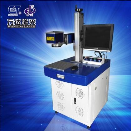 万达激光机器人机械手臂自动化全自动激光打标机 刻字机