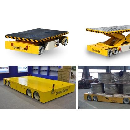 物料运输物料搬运全方向移动智能全向搬运机器人