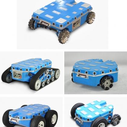 高精度 二次开发 机器人比赛 智能遥控电动 麦克纳姆轮车 全向机器人移动平台
