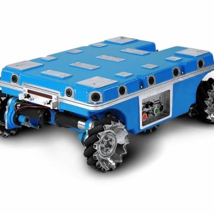 航发 Navigator Q2四轮机器人移动全向平台 移动机器人 全方位大学开发底盘