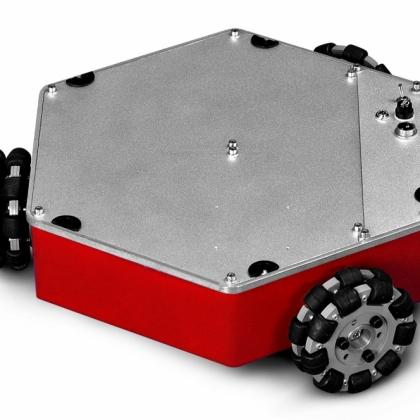 Compass Q1 三轮全向移动平台 移动机器人 全方位大学开发底盘
