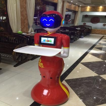 智能新款送餐语音互动机器人厂家供应 低价出售租赁